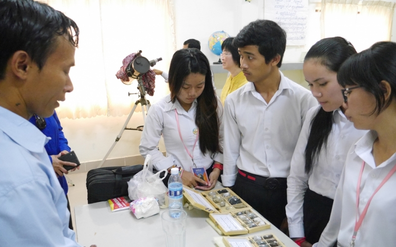 Strengthening STEM Curricula for Girls in Africa and Asia and the Pacific