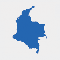 Illustrative map Colombia