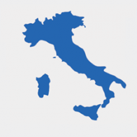 Illustrative map Italy