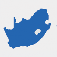 Illustrative map South Africa