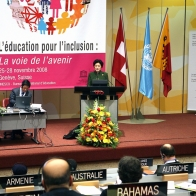 48th session of the International Conference on Education (ICE), Geneva, 25 to 28 November 2008.